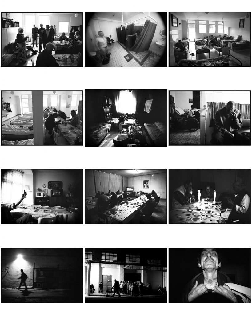 ukážka fotografii, dokumentárny cyklus päť brán